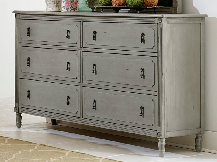 Aviana Dresser - Antique Gray