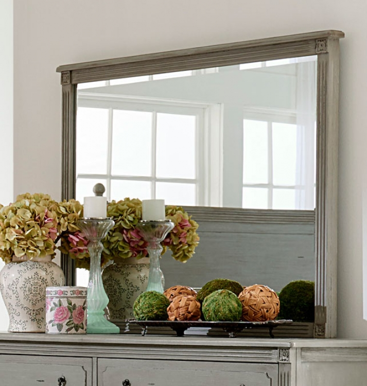Homelegance Aviana Mirror - Antique Gray