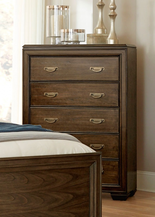 Leavitt Chest - Brown Cherry