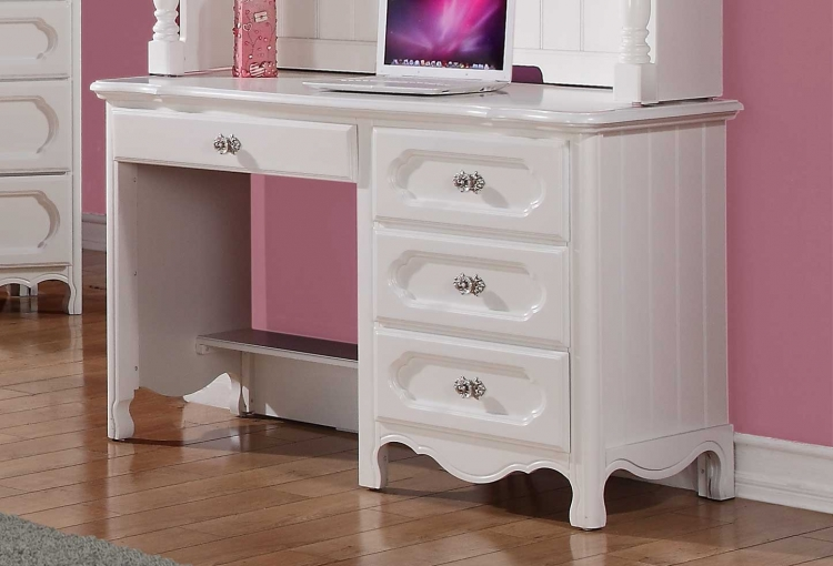 Hayley Writing Desk - White - Homelegance
