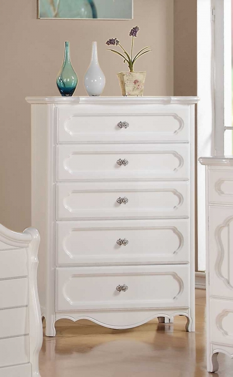 Hayley Chest - White