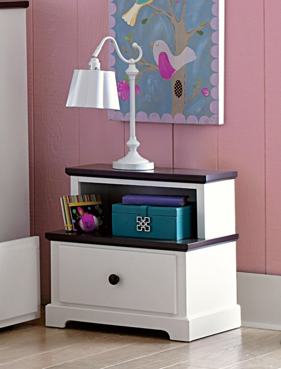 Lark Night Stand - White
