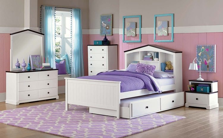 Lark Bedroom Set - White