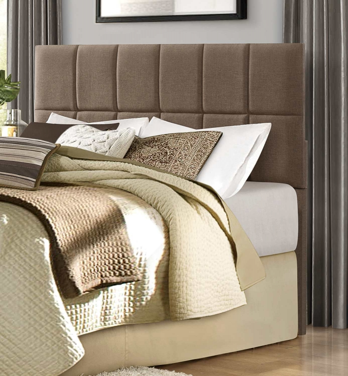 Portrero Upholstered Headboard - Brown