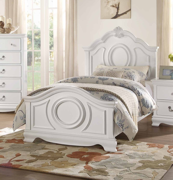 Lucida Bed - White