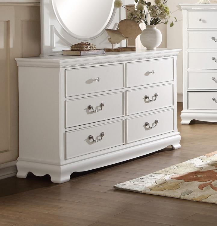 Lucida Dresser - White