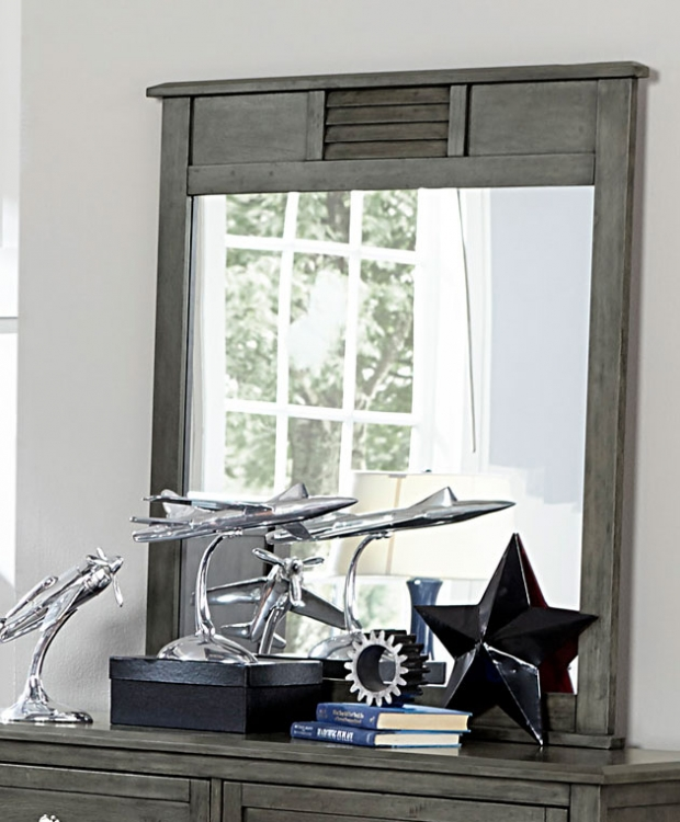 Homelegance Garcia Mirror - Gray