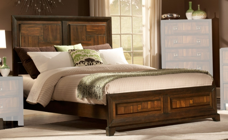 Brumley Bed - Homelegance