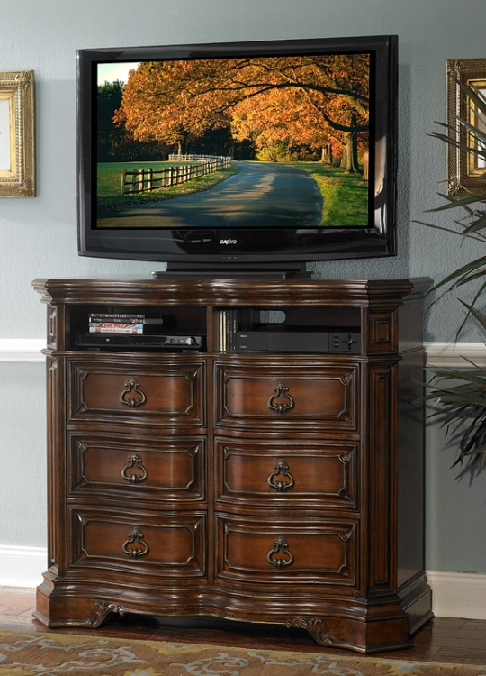 Montvail TV Chest - Homelegance