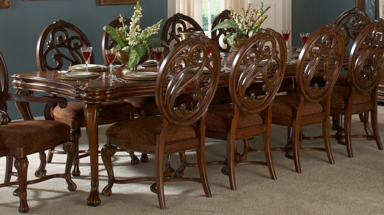 Montvail Leg Dining Table - Homelegance