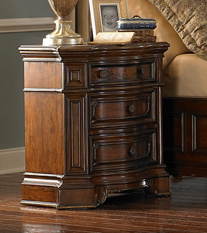 Montvail Night Stand - Homelegance