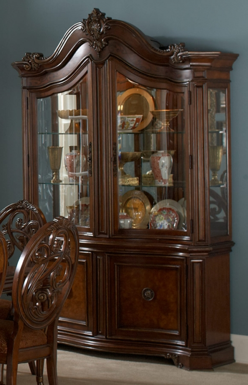 Montvail China Cabinet - Homelegance