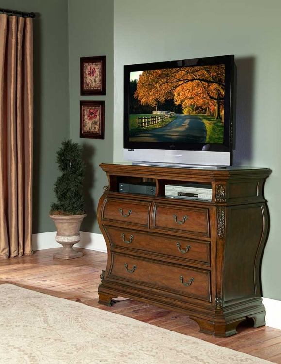 Cromwell TV Chest - Homelegance