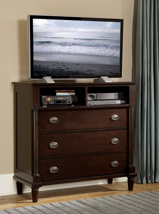 Houghton TV Chest - Homelegance