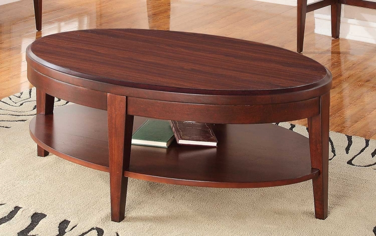 Beaumont Cocktail Table - Brown Cherry