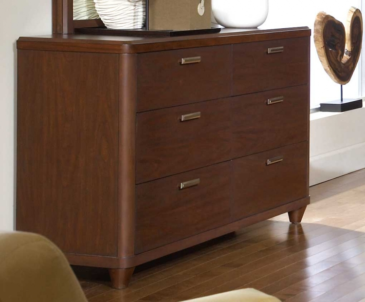 Beaumont Dresser - Brown Cherry - Homelegance