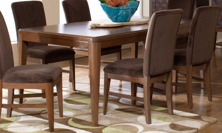 Beaumont Rectangular Dining Table - Brown Cherry - Homelegance