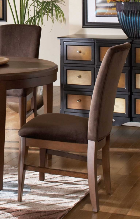 Beaumont Side Chair - Brown Cherry