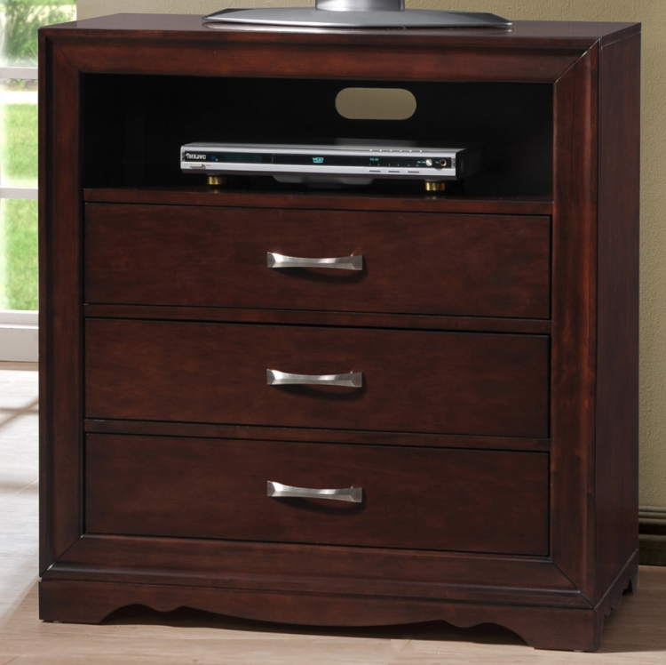Hendrick TV Chest - Homelegance