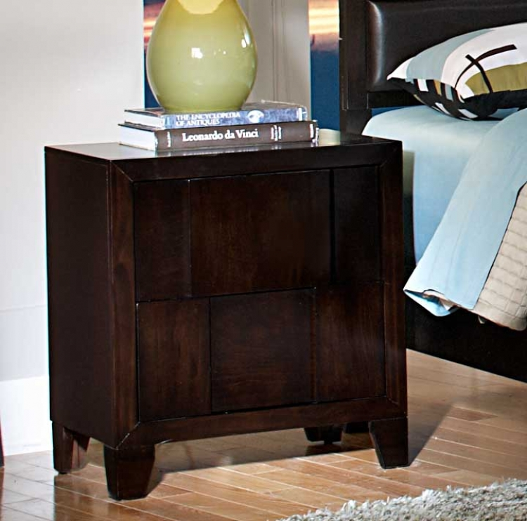 Romano Night Stand - Homelegance