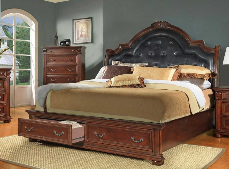 Silas Sleigh Bed