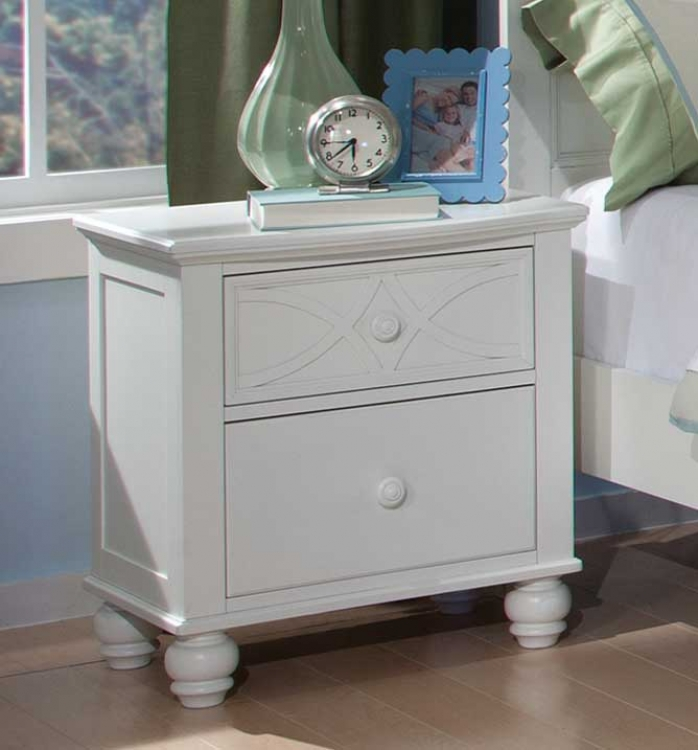 Sanibel Night Stand - White - Homelegance