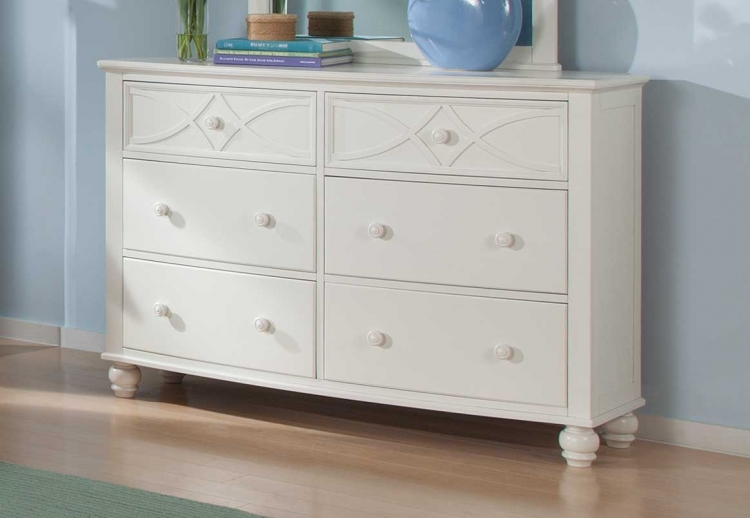 Sanibel Dresser - White - Homelegance