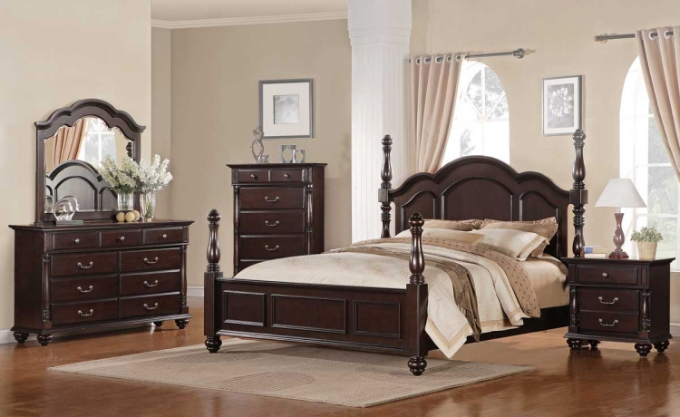 Townsford Bedroom Set - Homelegance