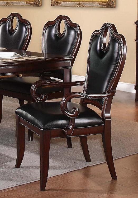 Agatha Arm Chair - Rich Cherry