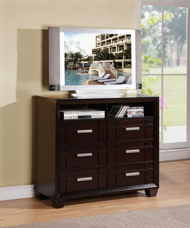 Lewiston TV Chest - Homelegance