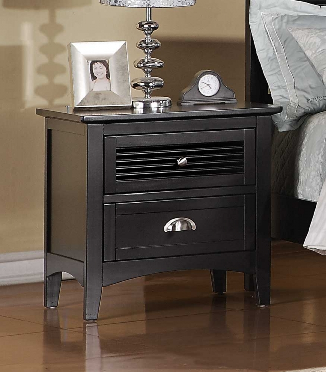 Robinson Night Stand - Dark Cherry - Homelegance