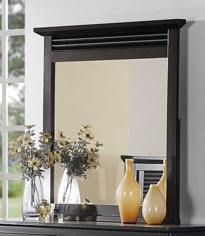 Robinson Mirror - Dark Cherry - Homelegance