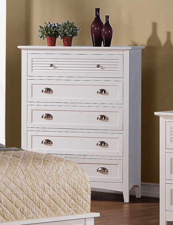 Robinson Chest - White - Homelegance