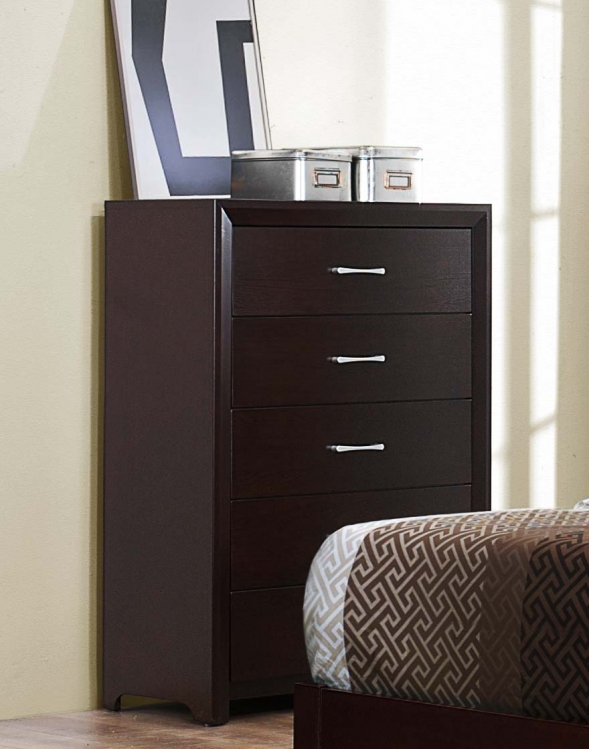 Edina Chest - Brown Espresso