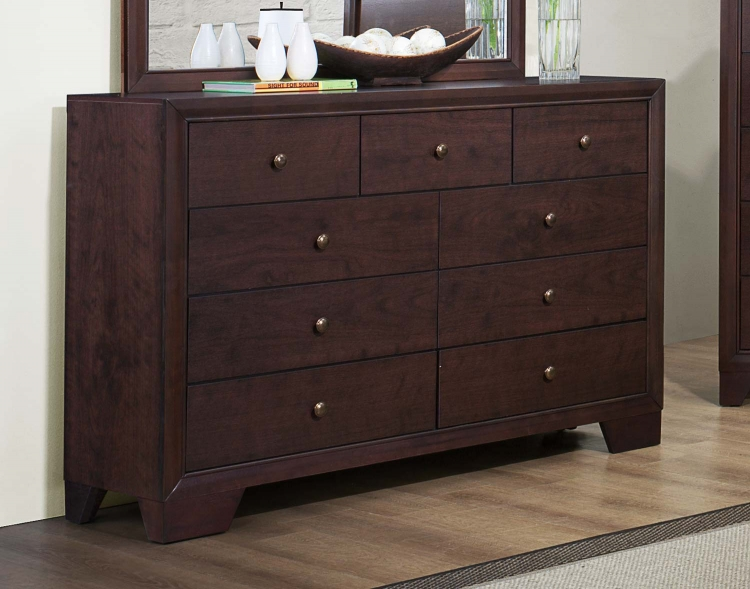 Kari Dresser - Warm Brown Cherry - Homelegance