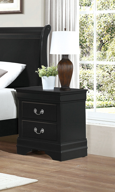 Mayville Night Stand - Black