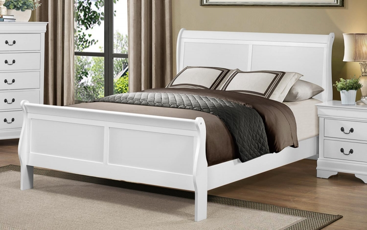 Mayville Bed - White