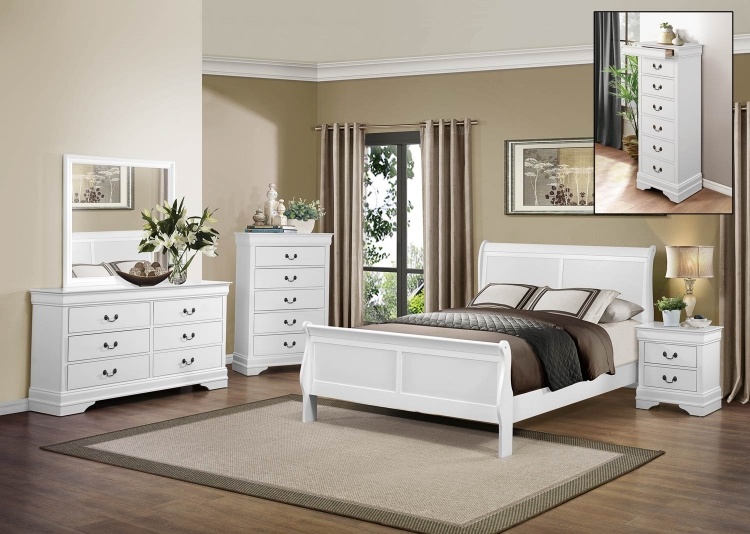 Mayville Bedroom Set - White