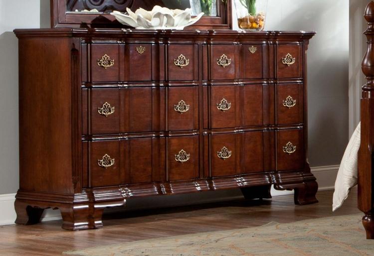 Guilford Dresser - Brown Cherry