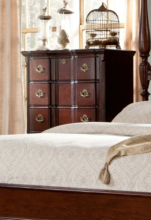 Guilford Chest - Brown Cherry