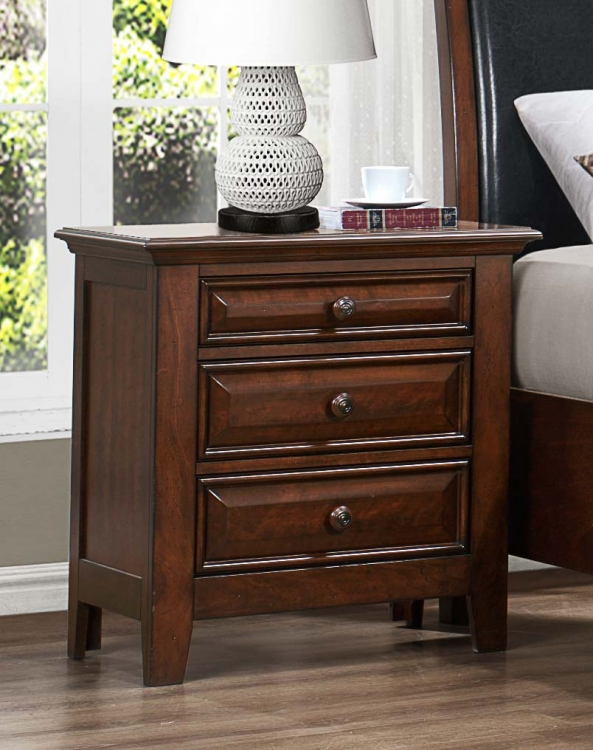 Sunderland Night Stand - Black