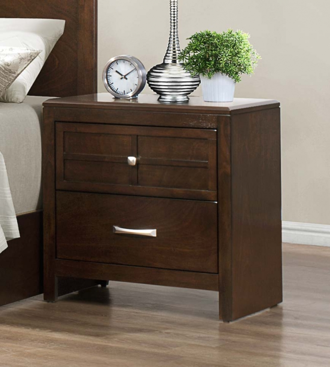 Greenfield� Night Stand - Espresso - Homelegance