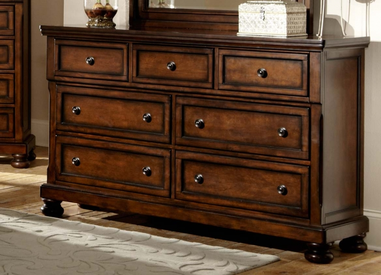 Cumberland Dresser - Brown Cherry
