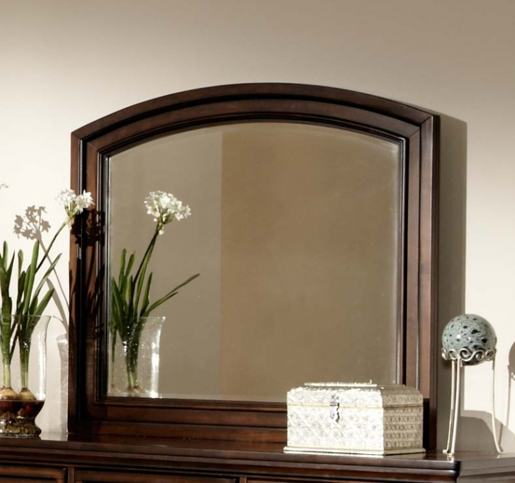 Cumberland� Mirror - Brown Cherry