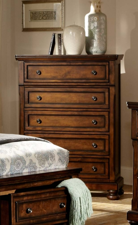 Cumberland Chest - Brown Cherry
