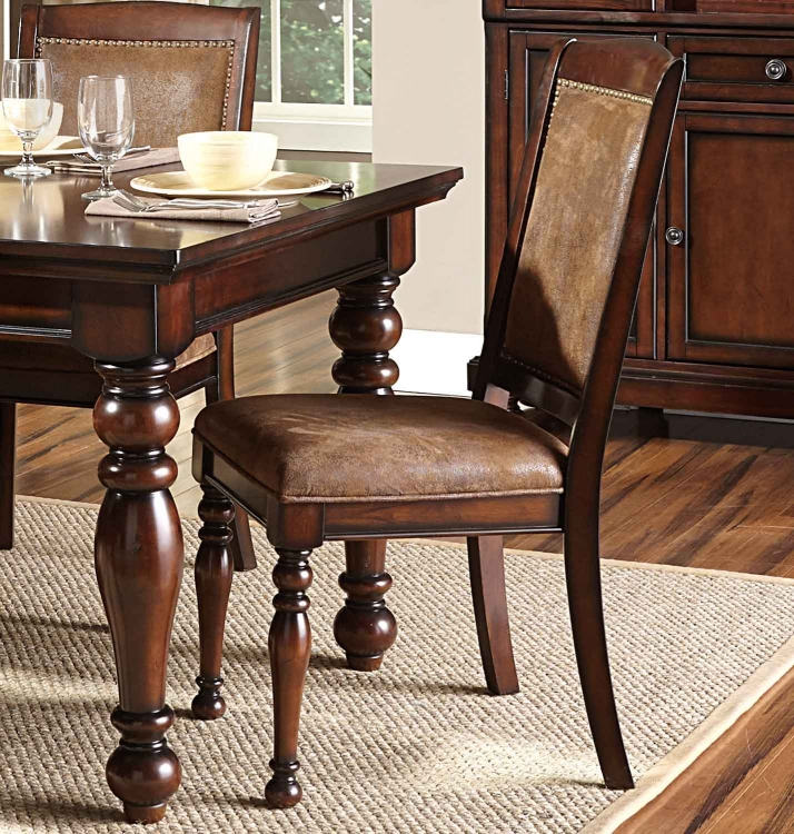 Cumberland Side Chair - Rich Medium Brown