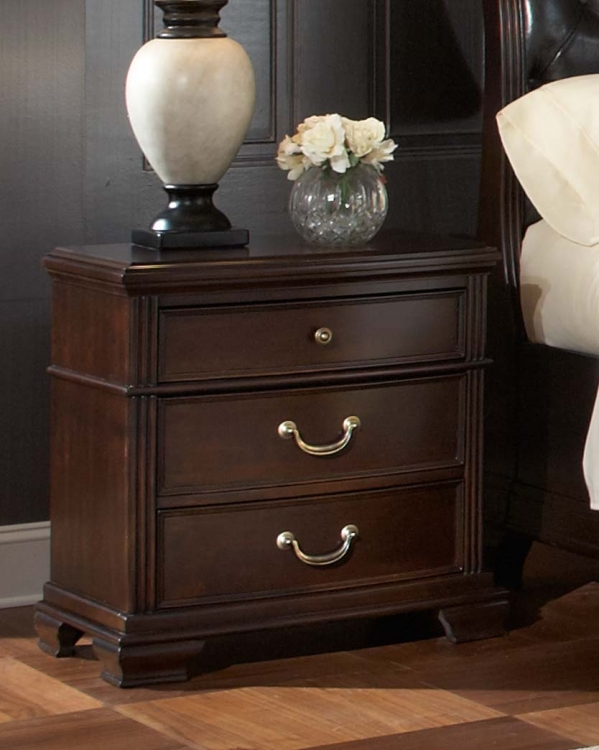 Wrentham Night Stand - Black - Homelegance