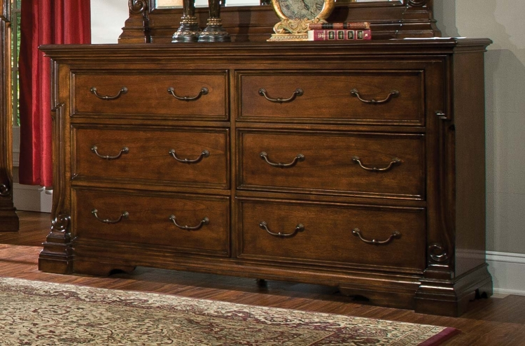 Havenwood Dresser - Cherry - Homelegance