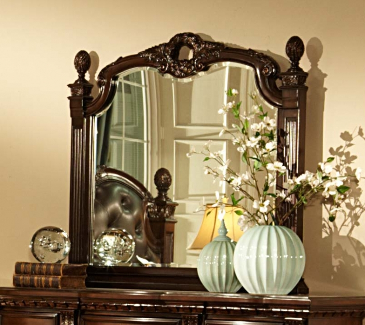Orleans Mirror - Cherry - Homelegance