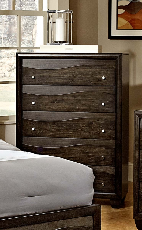 Redondo Chest - Grey-toned Brown